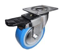 Medium Duty Tpr Castor With Brake