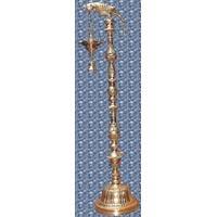 Brass Parrot Lamp