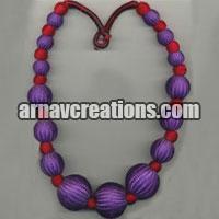Fashion Beaded Necklace and Fashion Beaded Bracelets