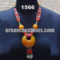 Resin Necklace and Bracelets
