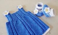 Knit Baby Garment