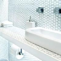 hexagonal wall tiles