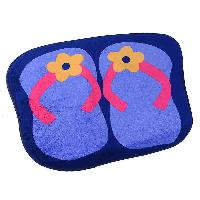 Foot Print Design Bath Mats