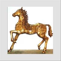 antique brass statue