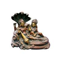 Brass Vishnu Statues
