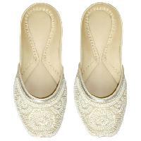 Punjabi Jutti, Women Beaded Shoes