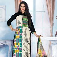 Cotton Printed Chudidar  Suit