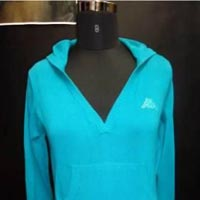 Ladies Hooded Sweater