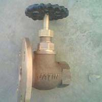 One Sided Flanged Cast Iron Wheel Valve