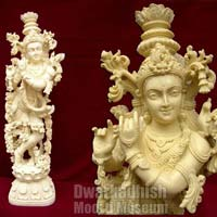 Synthetic Marble Krishna Statue