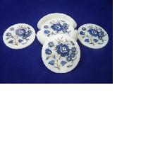 White Marble Inlay Coaster Sets