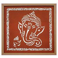 Shri Ganesh Wall Painting