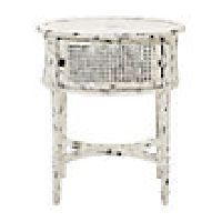 Merle Caned End Table