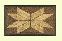 Rubber Inlay Coir Inesrt Mats