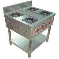 Four Burner Range With Dosa Plate