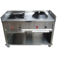 Double Burner Indian and Chineese Range