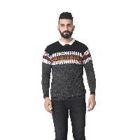 Msg Dk Grey Round Neck Sweater
