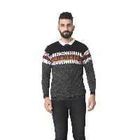 MSG Grey Round Neck Sweater