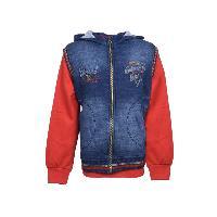 MSG Red Hooded Sweatshirt For Boy Kids
