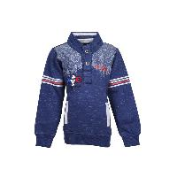 MSG Red Printed Sweatshirt For Boy Kids