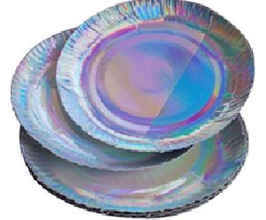 Silver Coated Buffet Plate