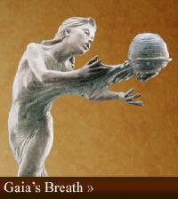 Gaia's Breath Human Sculpture