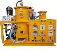 hydraulic oil cleaning systems