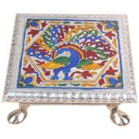 Silver Meena Pooja Bajot 6x6