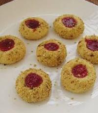 Jam Pistachio Cookies