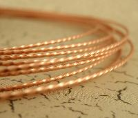 twisted copper wire