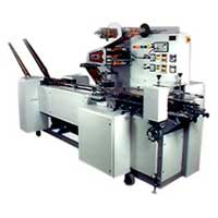 Double Chute Wrapping Machine