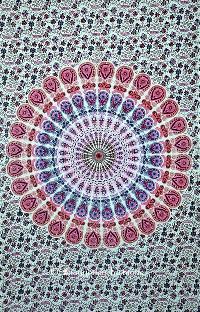Mandala Tapestry Throw Bedding