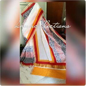 Block Printed Kerala Cotton Sarees