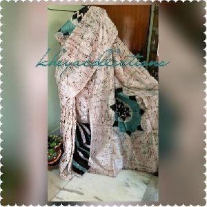 Designer Hand Batik Bishnupur Silk Sarees