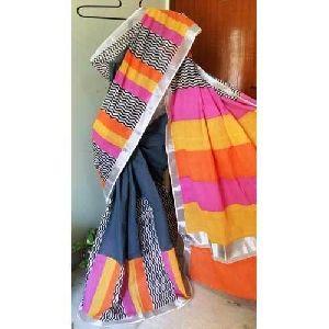 Handmade Printed Cotton Sarees