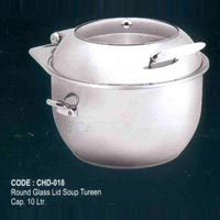 Stainless Steel Soup Tureen