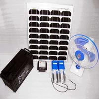 Solar CFL Home Lighting System