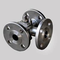 Flanged End L Ball Valve