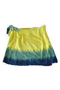 Tie Dye Wrap Skirt