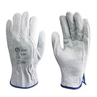 Cow Grain Leather Industrial Gloves