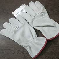 Cow Split Leather Industrial Gloves