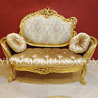 French Antique Sofa 2 Seater