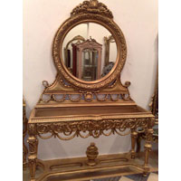 Luxury Antique Console Mirror Manufacturer Offered By