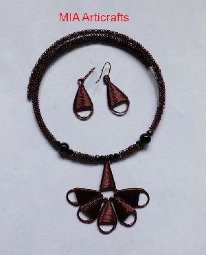 Copper Wire Necklace Sets