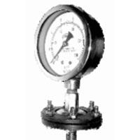 Chemical Sealed Diaphragm Pressure Gauge
