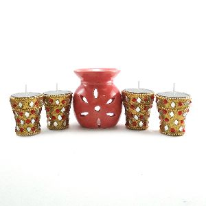 Decorative Long Tea Light Candle