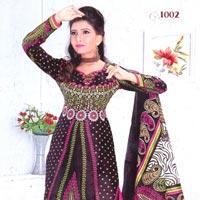 Unstitched Pure Cotton Salwar Suit