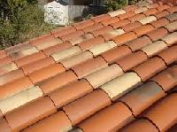 terracotta spanish clay roof tiles
