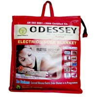 ODESSEY Electric Blanket (SINGLE BED) 75X150 CMS new