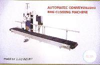 Automatic Conveyorised Bag Closing Machine